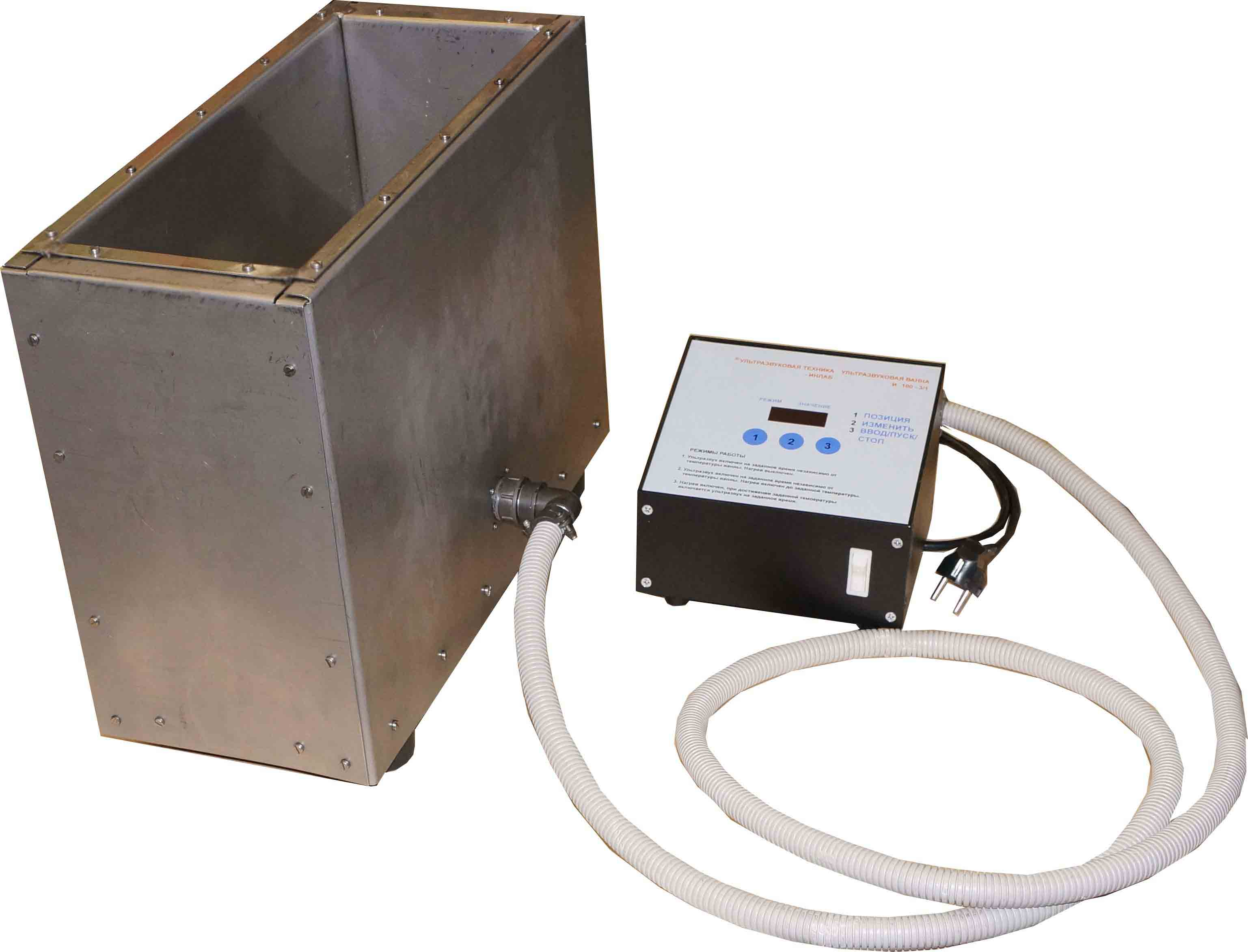 Standard and Custom ultrasonic baths