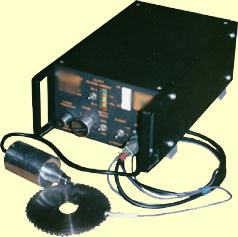 Установка ультразвукового электроискрового легирования с ручным инструментом.